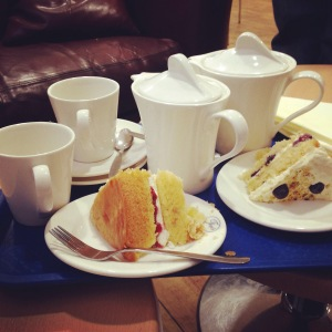 Life is better with tea and cake