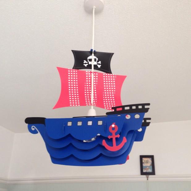 Pirate lightshade, Next