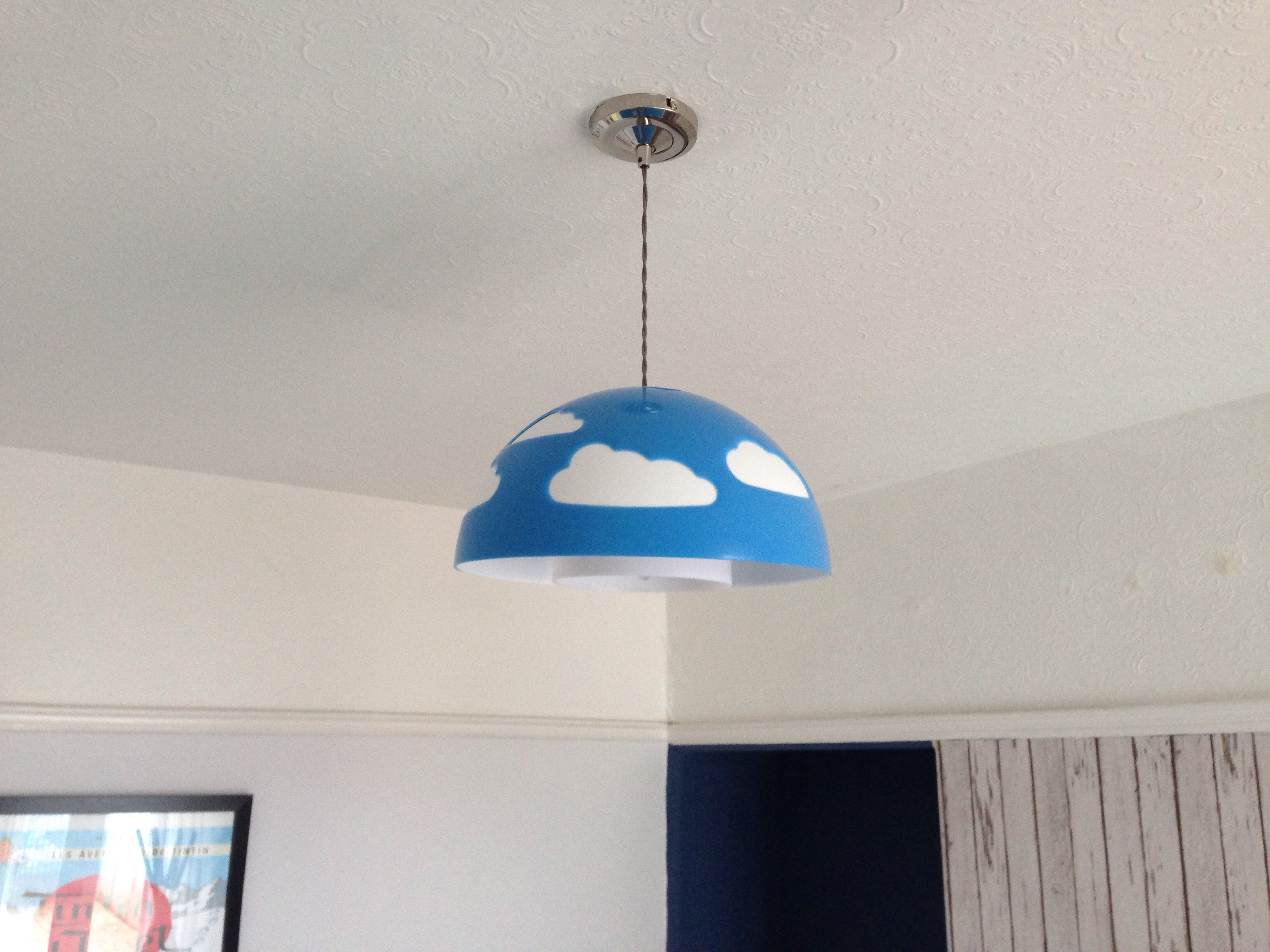 Cloud light pendant, Ikea
